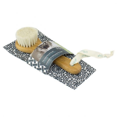 wool facial brush